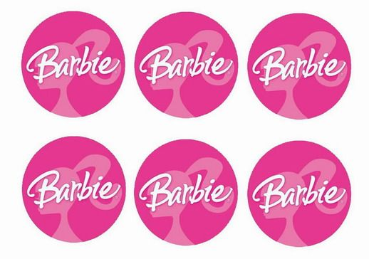 Barbie – Cupcake Toppers – Birthday Printable