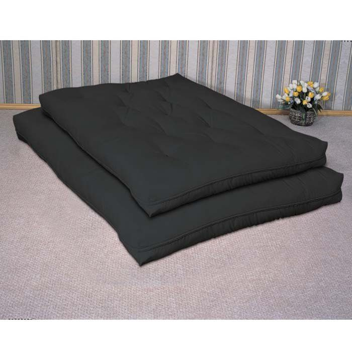 modern best futon mattress black color