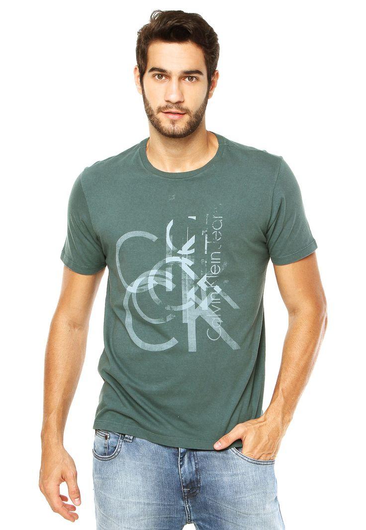 Camiseta Calvin Klein Jeans Verde - Marca Calvin Klein Jeans