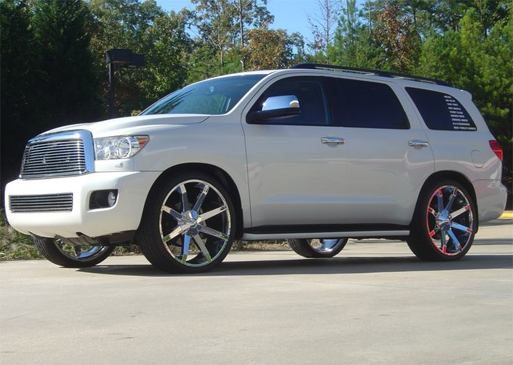 2008 Toyota Sequoia Platinum Edition for SEMA in Las Vegas, Nevada http://www.knfilters.com/news/news.aspx?ID=1696
