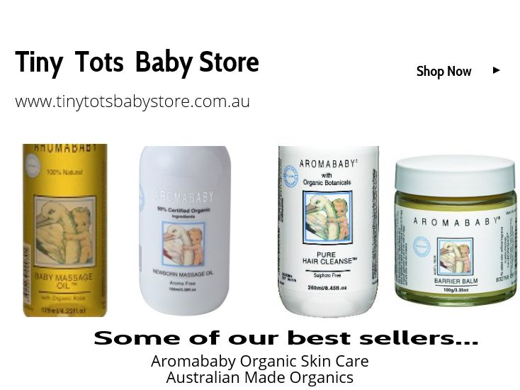 Aromababy Range At Tiny Tots Baby Store. http://www.tinytotsbabystore.com.au/index.php?PCID=22765