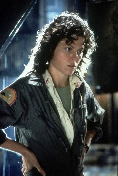 To prepare for her role in Aliens, Sigourney Weaver did dumbbell chest presses, squats, shoulder presses, and rows—all with weights—and she didn't diet at all.
