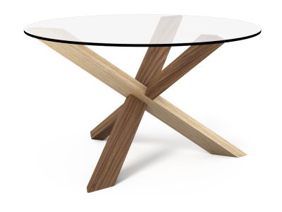 1 2 1 Puzzle Coffee Table Walnut 2 Oak Pinterest Tables And Glass Table