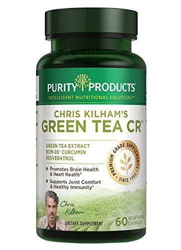 GREEN TEA CR = The Power of Green Tea + Curcumin + Resveratrol With Green Tea CR you get the power of premium quality Green Tea along with the joint boosting benefits of BCM-95® BioCurcumin® plus Resveratrol for healthy aging.* Green Tea CR (designed by Chris Kilham, the Medicine Hunter) also f... more details at http://supplements.occupationalhealthandsafetyprofessionals.com/herbal-supplements/green-tea/product-review-for-green-tea-cr-green-tea-curcumin-resveratrol-60-vege