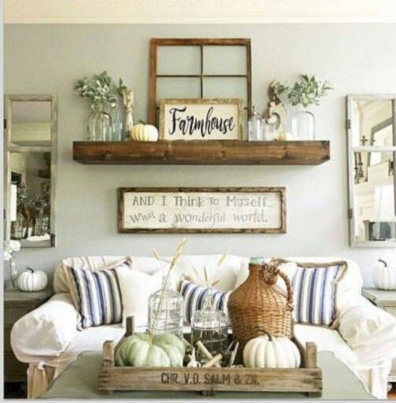 Fabulous Farmhouse Style Ideas To Decorate Your Room 40 Diy