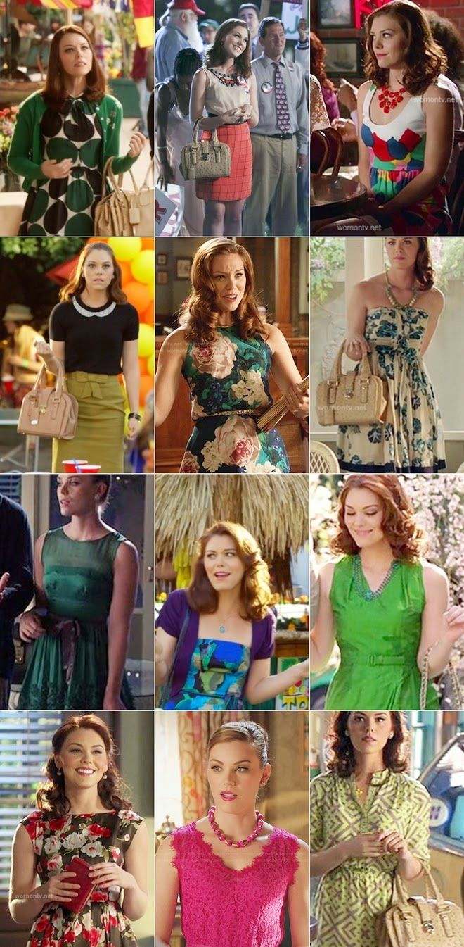 Character Fashion - Annabeth Nass - Hart of Dixie