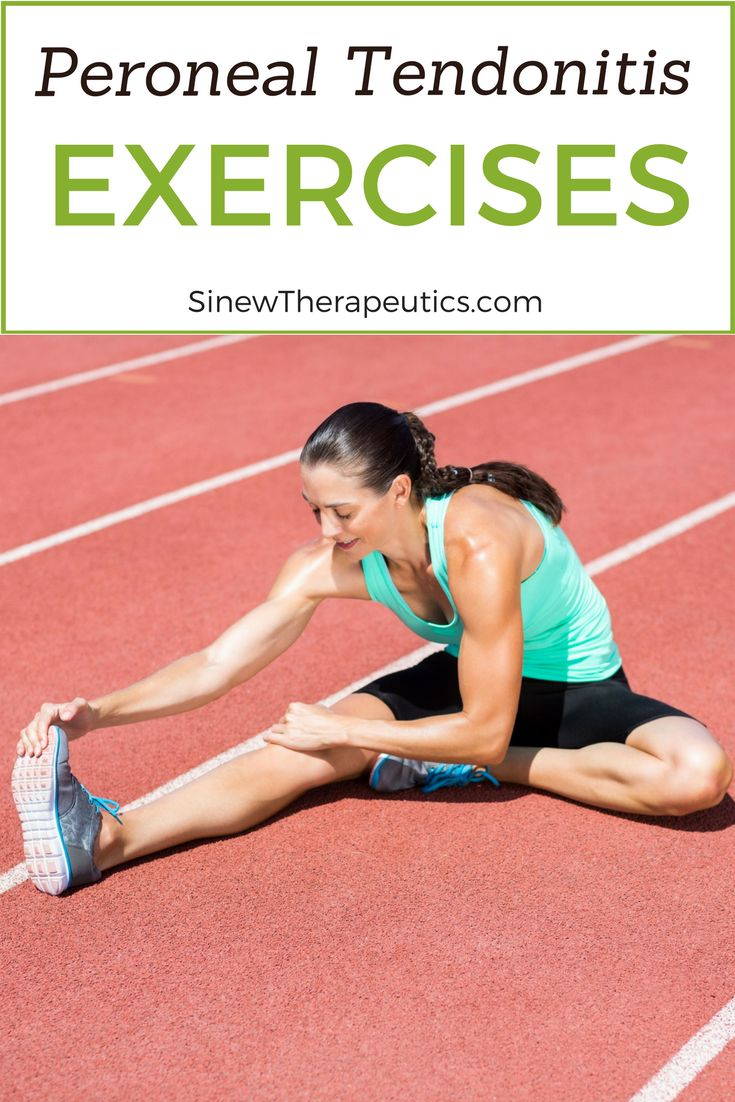 how to avoid peroneal tendonitis