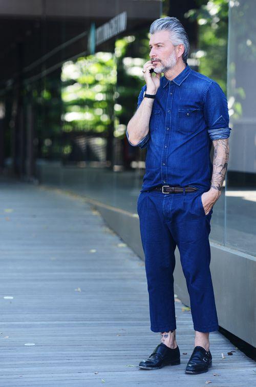 Men's style // All denim everything.