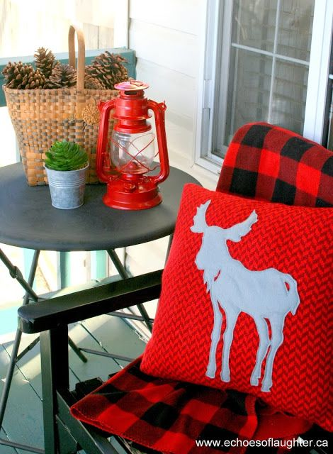 Echoes of Laughter: Outdoor Christmas Decor