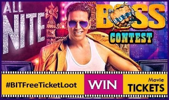 Boss Online Contest: Win Movie Tickets... http://www.buzzintown.com/bollywood-news--boss-online-contest-win-movie-tickets/id--8933.html #Bollywood