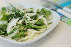 Cocinando con Neus: Ensalada de hinojo con hierbas aromáticas