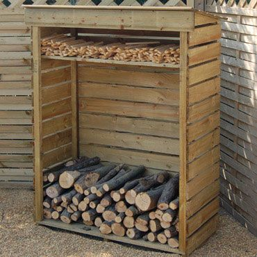 Awesome Rowlinson Small Log Store. Firewood StorageFirewood ShedFirewood  HolderStacking FirewoodWood ...