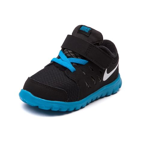 Shop for Toddler Nike Flex Run Athletic Shoe in Black at Journeys Kidz. Shop today for the hottest brands in mens shoes and womens shoes at JourneysKidz.com.Its the Nike Flex Run specifically designed for little feet! Features a lightweight synthetic upper, breathable mesh toe, padded collar, hook-and-loop strap lace closure, cushioned phylite midsole, and durable rubber outsole.