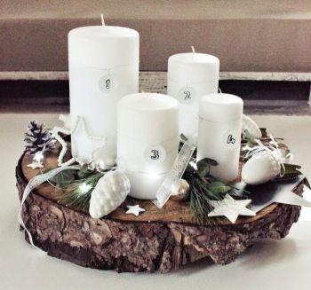 Vánoční inspirace – jak si vyrobit adventní věnec | Bydlení pro každého