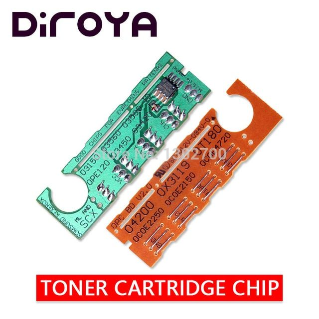 Free Shipping Scx D4200a Toner Cartridge Chip For Samsung Scx 4200