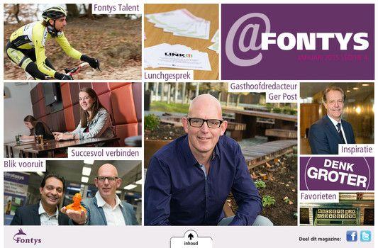 Digitaal Magazine @Fontys, editie 4. #fontys #denkgroter