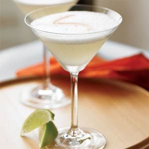 The pisco sour cocktail, invented in Peru around 1900, uses a pisco (Peruvian grape brandy) that has a bit of bite to it--that is, nothing too smooth--to create the balance in this creamy, frothy, limey drink.
