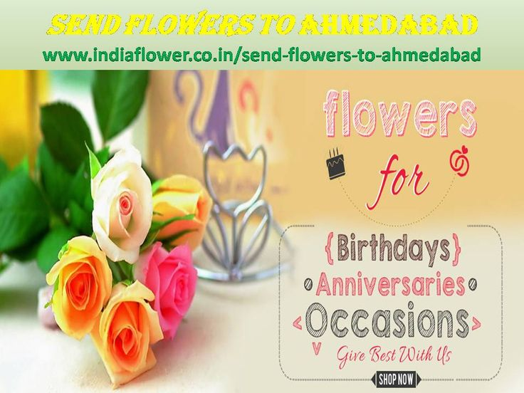 I think Ahmedabad online florist gives you better function in any occasions. You can send flowers to Ahmedabad to your lover and relatives. http://www.indiaflower.co.in/send-flowers-to-ahmedabad