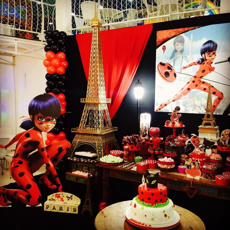 "40 Likes, 2 Comments - Daniele Verboski (@daniverboski) on Instagram: ""Uma linda festa Miraculous,Ladybug no Buffet Collors!! #festamiraculous #miraculousparty…"""