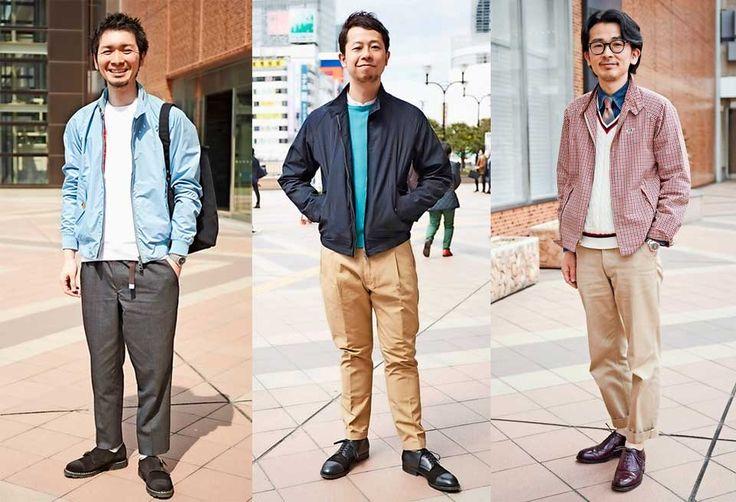 スウィングトップタイプのブルゾンはモダンなパンツで都会っぽく | メンズファッションの決定版 | MEN'S CLUB(メンズクラブ)