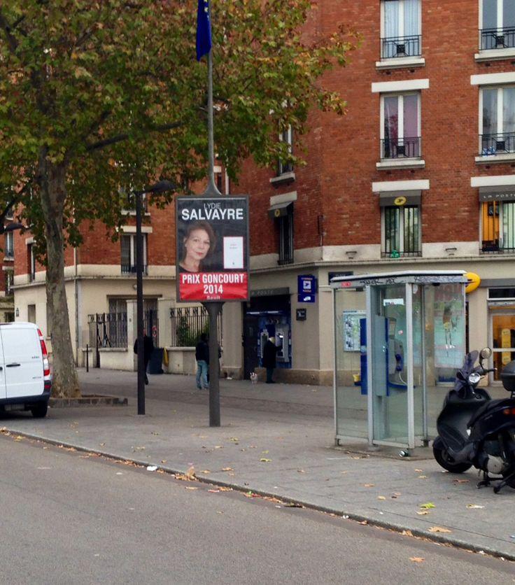 affiche prix goncourt quot pas pleurer quot de lydie salvayre 224 la station porte d orl 233 ans 224 le