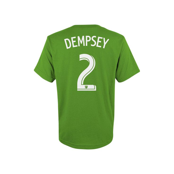 Adidas Seattle Sounders Clint Dempsey Tee - Boys 8-20, Boy's, Size: Large, Ovrfl Oth