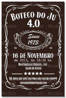 Karla Milani - Party Designer: Festa Boteco - 4.0 do Junior