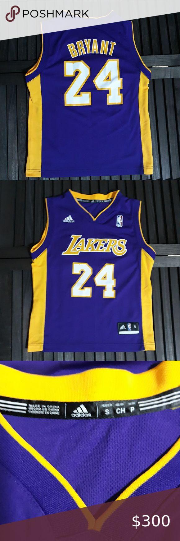 ADIDAS LAKERS Kobe Bryant Jersey Junior Small 8 | Lakers kobe ...