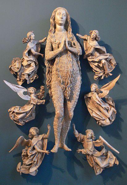 Tilman Riemenschneider's Elevation of Mary Magdalene, one of my favorite Riemenschneiders!