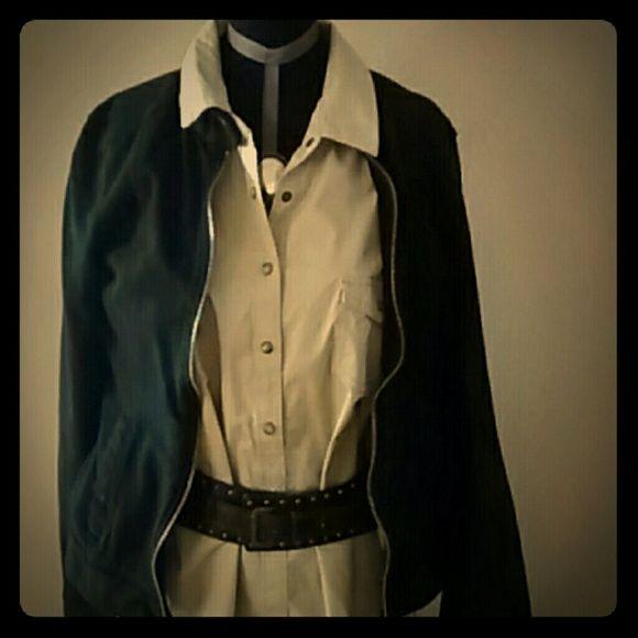 !!!HP!!! Khaki shirt dress Classic khaki dress Dresses