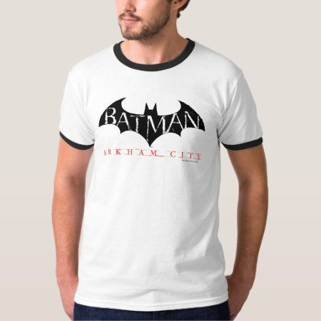 Batman Arkham City Label T-Shirt - click to get yours right now!