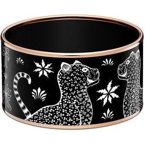 Hermès Les Léopards Bracelet