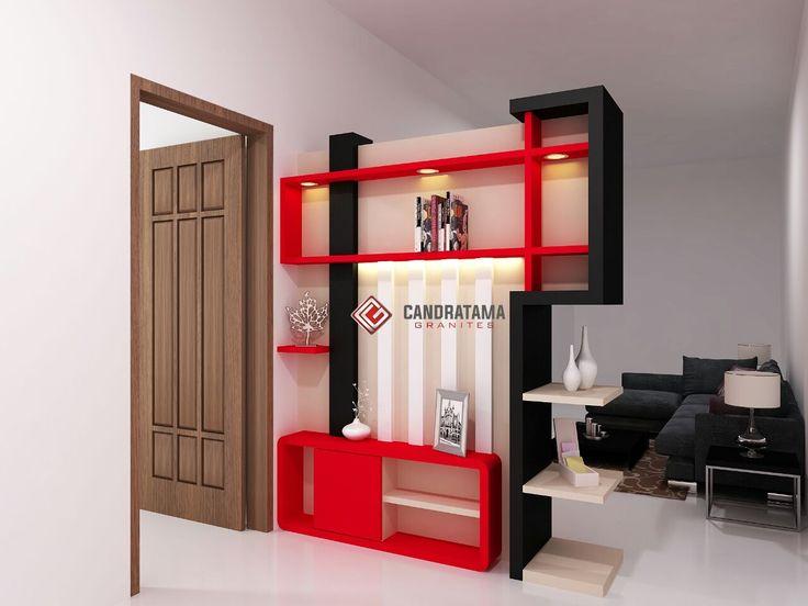 interior kediri - interior jombang -interior blitar -interior nganjuk - interior tulungagung -interior trenggalek - partisi - backdrop - ruang tamu - minimalis - modern