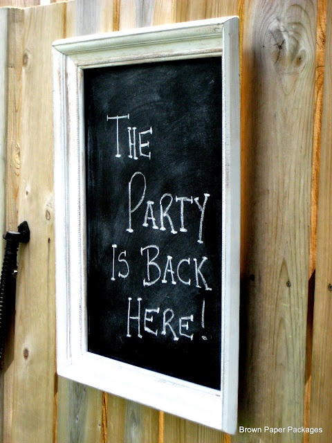 17 best images about chalkboards for the garden on