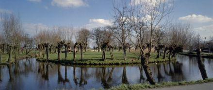 De Koeneschans, een voormalig schanseiland in de Vlist