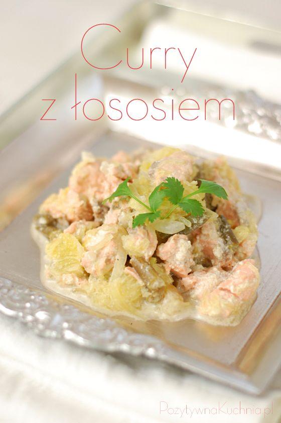 #przepis na #curry z łososiem i dynią  http://pozytywnakuchnia.pl/curry-z-lososiem/  #dynia #losos #kuchnia #obiad