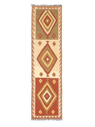 -40,500% OFF Hand Woven Izmir Wool Kilim, Light Yellow, 2' 8