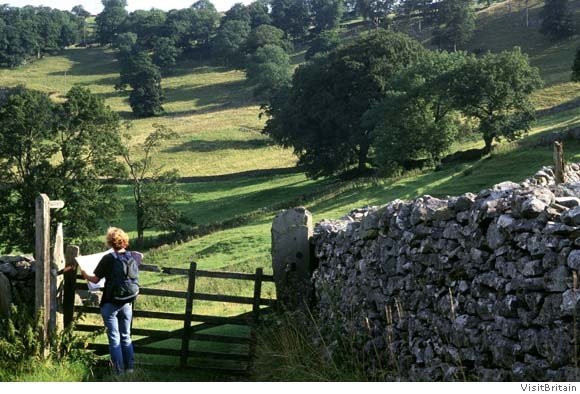 """Darroby, England.  Fictional home of James Herriot author of """"All Creatures Great & Small"""""""