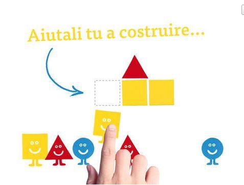 Ecco uno dei giochi interattivi per bambini made in Italy più riusciti: Forme in gioco di Minibombo, un'app che invita a giocare con le forme geometriche