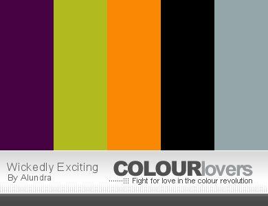 Week 27 Coloring Palette [HALLOWEEN SPECIAL] - Color Me Palettes - Color Me Forum
