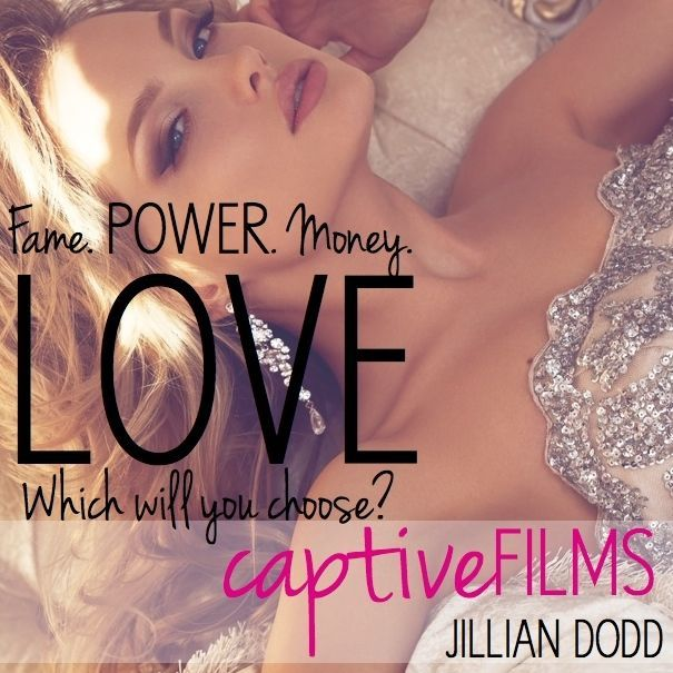 Fame. Money. Power. Love . . .   In reality TV form, this book series follows the lives and loves of those who work at Captive Films.  Hot, successful, playboy Riley Johnson, whose business success far exceeds his success in love.  Movie star, Keatyn Douglas, whose epic love story has spawned a series of books and movies.  And Dawson Johnson, who joins Captive with a tragic past.  Expect lots of drama and tabloid-worthy events. #captivefilms #jilliandodd  #reading #thekeatynchronicles