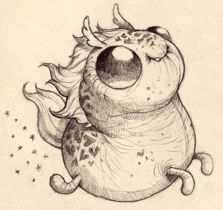 Support Chris Ryniak creating Friendly Monster Drawings!