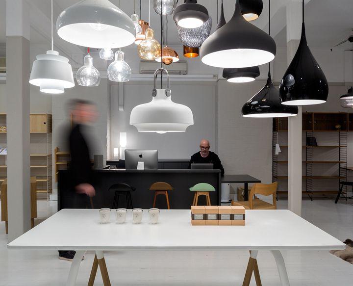 Роскошный дизайн магазина мебели Great Dane в Сиднее