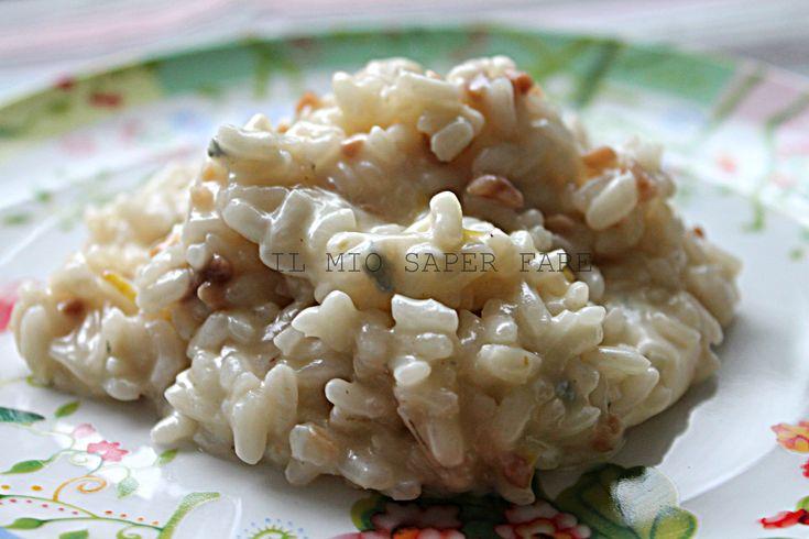 Risotto mantecato al gorgonzola