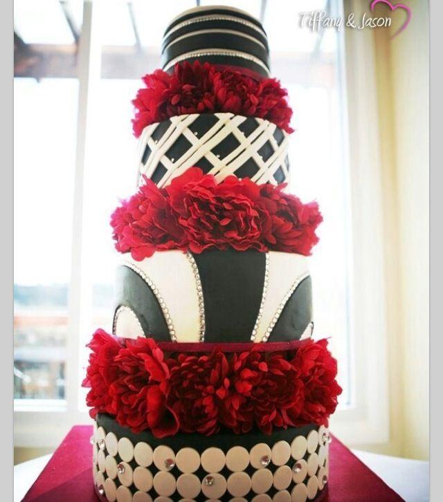 Red And Black Wedding Ideas 98 Fresh Black and white wedding