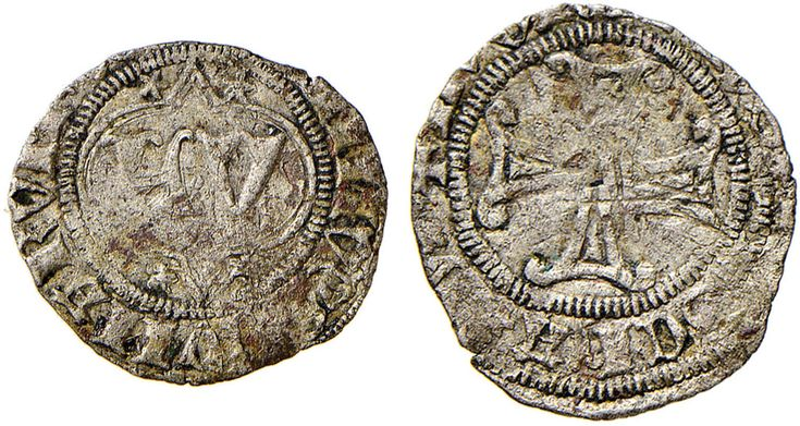 NumisBids: Nomisma Spa Auction 51, Lot 1313 : COMO Lotterio IV Rusca (1412-1416) Trillina – Biaggi 655 MI (g...