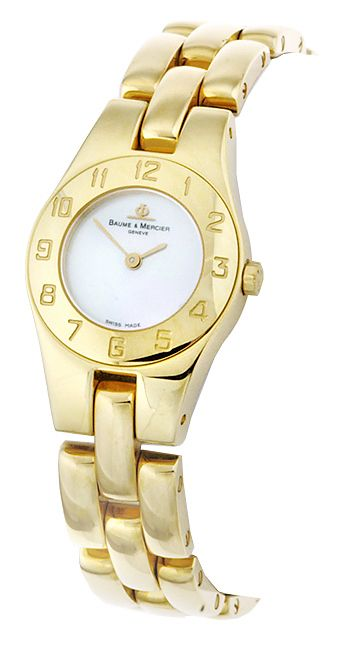 From+the+celebrated+Baume+and+Mercier+Linea+Collection+comes+this+exquisite+women's+watch.