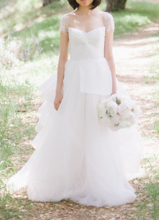 Reem Acra Lily 4400 Size 2 Wedding Dress Wedding Gallery