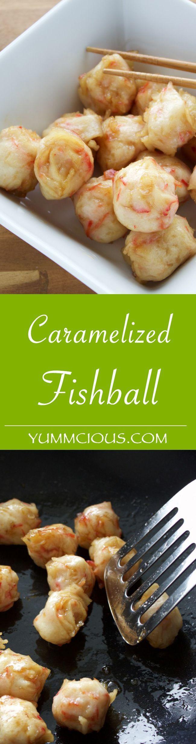 Caramelized Fishball  http://yummcious.com/fish-ball-recipe/