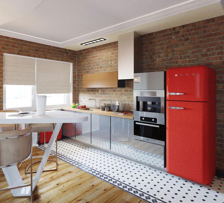 Кухня для режиссера. - Кухня в современном стиле | PINWIN - конкурсы для…